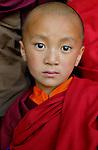A liitle lama from Bumthang, Bhutan. Arindam Mukherjee..