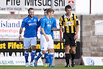 East Fife v St Johnstone...09.07.14  Pre-Season Friendly<br /> Stevie May celebrates his goal, saints second<br /> Picture by Graeme Hart.<br /> Copyright Perthshire Picture Agency<br /> Tel: 01738 623350  Mobile: 07990 594431