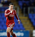 St Johnstone v Aberdeen...13.12.11   SPL .Ryan Jack celebrates his goal.Picture by Graeme Hart..Copyright Perthshire Picture Agency.Tel: 01738 623350  Mobile: 07990 594431
