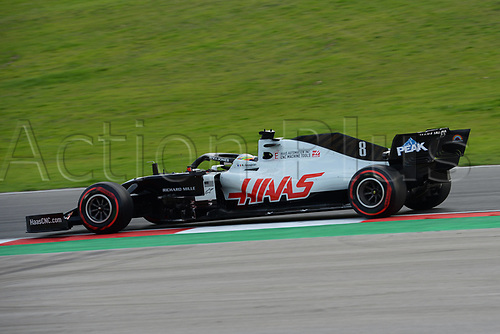 13th November 2020; Istanbul Park, Istanbul, Turkey; FIA Formula One World Championship 2020, Grand Prix of Turkey, Free practise sessions; 8 Romain Grosjean FRA, Haas F1 Team