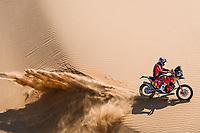 6th January 2021; Wadi Al Dawasir to Riyadh, Saudia Arabia; Dakar 2021 Rally, stage 4;  #05 Sunderland Sam (gbr), KTM, Red Bull KTM Factory Team, Moto, Bike, action during the 4th stage of the Dakar 2021 between Wadi Al Dawasir and Riyadh, in Saudi Arabia on January 6, 2021