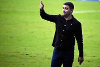 PORTO ALEGRE, RS, 09.05.2021 - GREMIO - CAXIAS - O técnico Rafael Lacerda, da equipe do Caxias, na partida entre Grêmio e Caxias, válida pela semi final do Campeonato Gaúcho 2021, no estádio Arena do Grêmio, em Porto Alegre, neste domingo (9).
