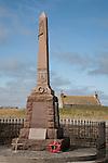 War Memorial, Isle of Sanday, Orkney Islands, Scotland