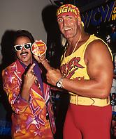 Jimmy Hart Hulk Hogan 1995                                         Photo By John Barrett/PHOTOlink