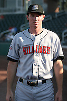 August 11, 2009: Sean Conner of the Billings Mustangs.The Mustangs are the Pioneer League affiliate for the Cincinnati Reds. Photo by: Chris Proctor/Four Seam Images