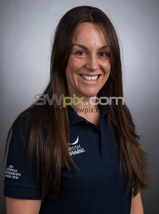 Picture by Alex Broadway/SWpix.com - 23/05/2016 - Swimming - Great Britain Olympic Swimming Squad Portraits - Holiday Inn Stratford, London, England - Lisa Bates.