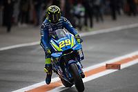 ANDREA IANNONE - ITALIAN - TEAM SUZUKI ECSTAR - SUZUKI<br /> Valencia 17-11-2018 <br /> Moto Gp Spagna<br /> Foto Vincent Guignet / Panoramic / Insidefoto