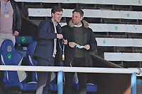 Sunderland's Owner Kyril Louis-Dreyfus at the field at the end of the game  during Peterborough United vs Sunderland AFC, Sky Bet EFL League 1 Football at London Road on 5th April 2021