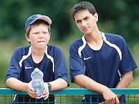 Tenis, World Championship U-14.World U-14 championship.Stefan Kozlov, left and Noah Rubin.Prostejov, 04.08.2010..foto: Srdjan Stevanovic/Starsportphoto ©