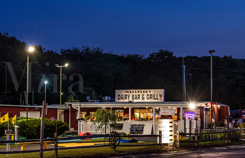 Dairy Bar and Grill, Wellfleet, Cape Cod, Massachusetts, USA