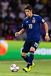 Sakai Hiroki of Japan in action during the AFC Asian Cup UAE 2019 Semi Finals match between I.R. Iran (IRN) and Japan (JPN) at Hazza Bin Zayed Stadium  on 28 January 2019 in Al Alin, United Arab Emirates. Photo by Marcio Rodrigo Machado / Power Sport Images