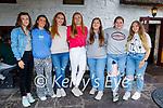 Enjoying the evening in Kate Browne's Ardfert on Friday, l to r: Caoimhe Doolan, Maeve Collins, Rachel Walsh, Niamh Goggin, Rebecca O'Connor, Mary McGarr and Helen Babyuk.