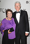 Helen Reddy & Tony Sheldon<br /> attending The 65th Annual Tony Awards in New York City.
