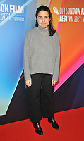 """Erendira Nunez Larios at the 65th BFI London Film Festival """"Sundown"""" UK premiere, BFI Southbank, Belvedere Road, on Saturday 09th October 2021, in London, England, UK. <br /> CAP/CAN<br /> ©CAN/Capital Pictures"""