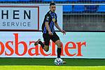 Waldhofs Marcel Gottschling (Nr.24) am Ball beim Spiel in der 3. Liga, SV Waldhof Mannheim - FSV Zwickau.<br /> <br /> Foto © PIX-Sportfotos *** Foto ist honorarpflichtig! *** Auf Anfrage in hoeherer Qualitaet/Aufloesung. Belegexemplar erbeten. Veroeffentlichung ausschliesslich fuer journalistisch-publizistische Zwecke. For editorial use only. DFL regulations prohibit any use of photographs as image sequences and/or quasi-video.