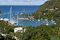 St. Lucia.  Marigot Bay.
