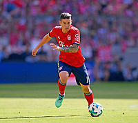 12.05.2018, Football 1. Bundesliga 2017/2018, 34.  match day, FC Bayern Muenchen - VfB Stuttgart, in Allianz-Arena Muenchen.  James Rodriguez (FC Bayern Muenchen)  *** Local Caption *** © pixathlon<br /> <br /> +++ NED + SUI out !!! +++<br /> Contact: +49-40-22 63 02 60 , info@pixathlon.de