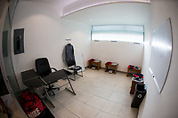 , MEXICO - : U-23 USMNT coaches room during a game between  and undefined at  on ,  in , Mexico.
