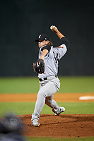Jackson Generals relief pitcher Mason McCullough (44) delivers a pitch during a game against the Chattanooga Lookouts on May 9, 2018 at AT&T Field in Chattanooga, Tennessee.  Chattanooga defeated Jackson 4-2.  (Mike Janes/Four Seam Images)