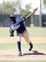 Jose DePaula / San Diego Padres 2008 Instructional League..Photo by:  Bill Mitchell/Four Seam Images