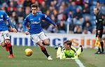 05.05.2019 Rangers v Hibs: Ryan Jack and Ryan Gauld