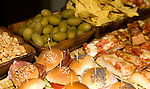 Sandwiches, Roses Restaurant, Florence,Tuscany, Italy,