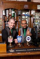 Ben Spray and Dhiran Mehta of the Star pub in Beeston, Nottingham