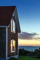 Nobska Point Light Keepers House,<br /> Woods Hole, Cape Cod, Massachusetts