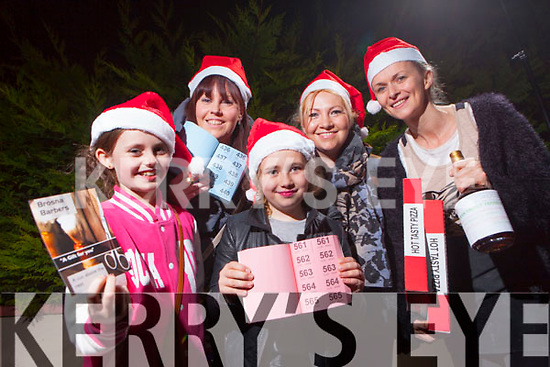 +++Reproduction Free+++ Kerrys Eye<br /> Getting ready for Brosna's first Christmas Market was Síocha and Jenny McCauliffe, Aoibhe and Aishling Reidy and Josie Lane which takes place on Sunday 12th from 2-6 in the village square