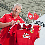 HONG KONG - JANUARY 15 ; Warren Gatland, head coach of the British & Irish Lions poses for pictures during an HSBC photo call at the Hong Kong Stadium  on January 2013 in Hong Kong. The British & Irish Lions play the first match of their 2013 Tour against the Barbarians on 1st June 2013 in Hong Kong. HSBC is proud Principal Partner of The British & Irish Lions. (Photo by Victor Fraile / Getty Images for HSBC)