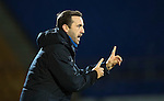 St Johnstone v Motherwell…17.12.16     McDiarmid Park    SPFL<br />James McFadden gives instructions<br />Picture by Graeme Hart.<br />Copyright Perthshire Picture Agency<br />Tel: 01738 623350  Mobile: 07990 594431