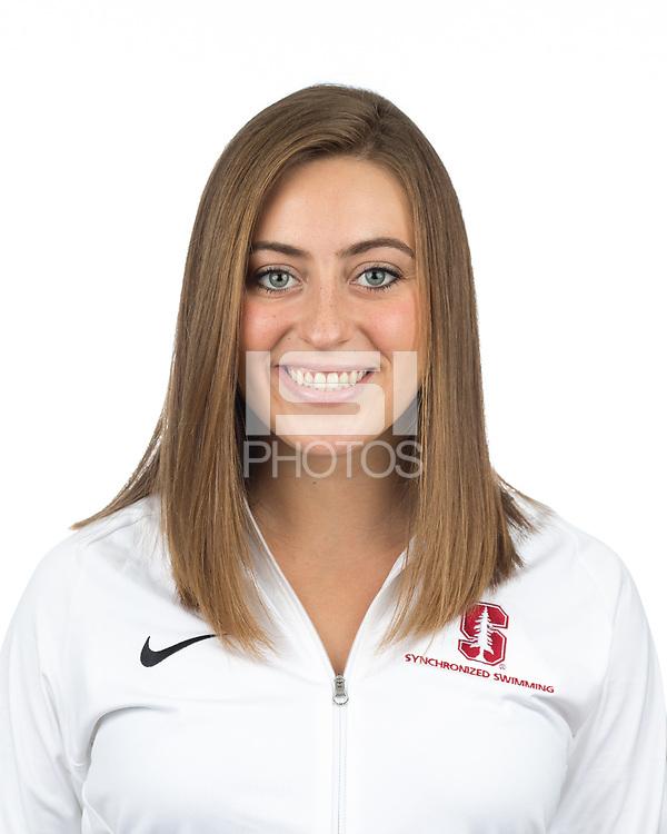 Stanford, CA - November 7, 2019: Caitlin Klauer Athlete Headshot.