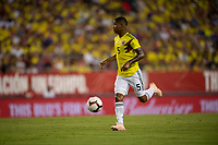 Tampa, FL - Thursday, October 11, 2018: Wilmar Barrios during a USMNT match against Colombia.  Colombia defeated the USMNT 4-2.