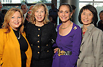 From left: Pepper Lieberman, Myrna Newman, Gail Klein and Linda Toyota at the Guardian of the Human Spirit Luncheon at the Hilton Americas Hotel Monday Nov. 05,2012.(Dave Rossman photo)
