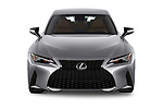 Car photography straight front view of a 2021 Lexus IS 300 4 Door Sedan Front View
