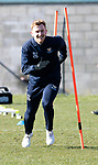St Johnstone Training….15.03.19<br />Liam Craig pictured during training this morning at McDiarmid Park ahead of tomorrow's game against St Mirren.<br />Copyright Perthshire Picture Agency<br />Tel: 01738 623350  Mobile: 07990 594431