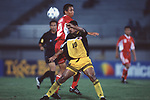 Singapore vs Indonesia during their Tiger Cup 1998 Semi-Final match at Thong Nhat Stadium on 03 September 1998, in Ho Chi Minh City, Vietnam. Photo by Stringer / Lagardere Sports