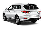 Car pictures of rear three quarter view of 2017 Infiniti QX60 Hybrid 5 Door SUV Angular Rear