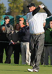 4 October 2008: Third round co-leader Tag Ridings watches a tee shot during the Turning Stone Golf Championship in Verona, New York.