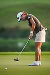 TAOYUAN, TAIWAN - OCTOBER 26:  Hee Young Park of South Korea puts on the 18th hole during the day two of the Sunrise LPGA Taiwan Championship at the Sunrise Golf Course on October 26, 2012 in Taoyuan, Taiwan. Photo by Victor Fraile / The Power of Sport Images