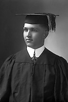 Historical photo of Forrest Fowler, graduate of dental college in early 1930's. Marble Falls, Texas.