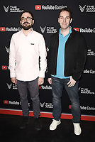 LOS ANGELES- DECEMBER 12: (L-R) Kris Piotrowski and Sean Lohrisch attend the Game Awards 2019 at the Microsoft Theater on December 12, 2019 in Los Angeles, California. (Photo by Scott Kirkland/PictureGroup)