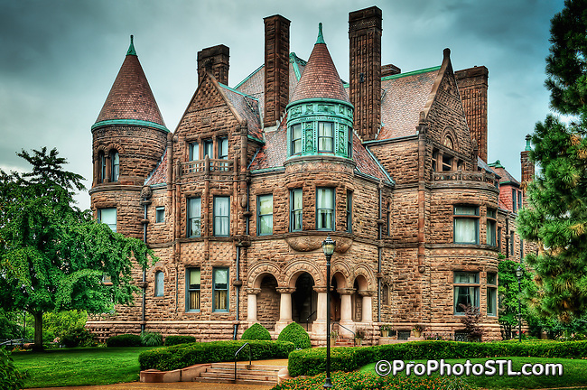 Samuel Cupples House at St. Louis University campus in St. Louis, MO