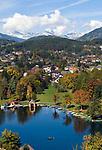 Oesterreich, Kaernten, Millstaetter See, Seeboden: am Westufer des Sees   Austria, Carinthia, Lake Millstatt, Seeboden: at the West banks