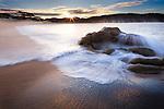sunrise, Carmel Bay, California