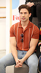 "Nick Adams during the rehearsal performance of  ""Falsettos""  at the New Ripley Grier on January 25, 2019 in New York City."