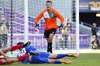 Orlando, Florida - Monday January 15, 2018: Ben Lundgaard. Match Day 2 of the 2018 adidas MLS Player Combine was held Orlando City Stadium.