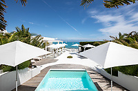 BNPS.co.uk (01202 558833)<br /> Pic: CapVillas/BNPS<br /> <br /> There is also a small heated pool<br />  <br /> A glamorous villa that has hosted a string of celebrities including Winston Churchill, Pablo Picasso, the Duke of Windsor and Edith Piaf is on the market for £9m (10.5m euros).<br /> <br /> The exquisite Villa La Garoupe Beach sits on a natural sand beach and has its own private beach on one of the French Riviera's most exclusive spots.<br /> <br /> It was once a renowned beach club and the list of names connected to the property are endless. French singer Edith Piaf hosted her engagement party to Theo Sarapo there and it was also visited by former US President Harry Truman, writer Ernest Hemingway, Bond actor Sean Connery and movie star Marlene Dietrich.<br /> <br /> The property in Cap d'Antibes has four bedrooms suitable for six to eight people, three bathrooms and a living area overlooking the sea.