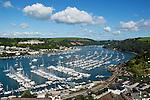Great Britain, England, Devon, Dartmouth: at River Dart Estuary and with the Royal Britannia Naval College | Grossbritannien, England, Devon, Dartmouth: an der Muendung des Dart River, mit dem Royal Britannia Naval College