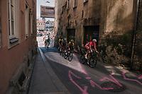 breakaway group<br /> <br /> MEN ELITE ROAD RACE<br /> Kufstein to Innsbruck: 258.5 km<br /> <br /> UCI 2018 Road World Championships<br /> Innsbruck - Tirol / Austria